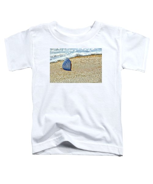 Clamshell In The Waves On Assateague Island Toddler T-Shirt