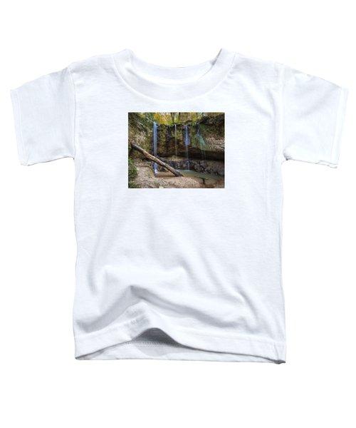 Clark Creek Waterfall No. 1 Toddler T-Shirt