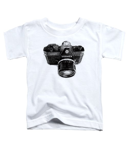 Classic Yashica Slr Film Camera Toddler T-Shirt