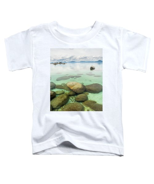 Clear Water, Stormy Sky Toddler T-Shirt