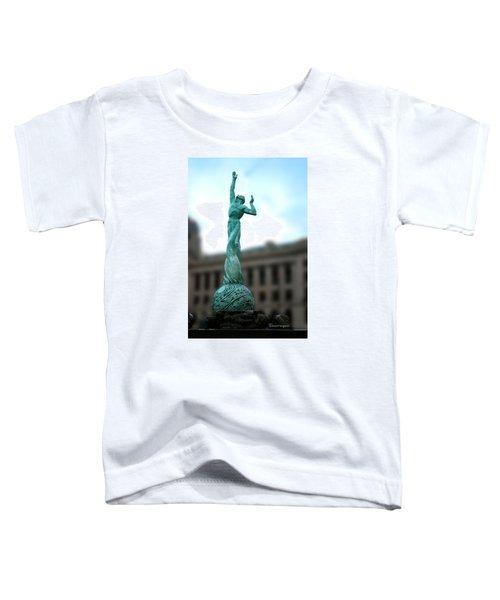 Cleveland War Memorial Fountain Toddler T-Shirt