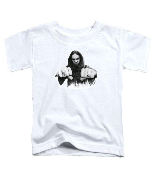 Cliff Burton Toddler T-Shirt