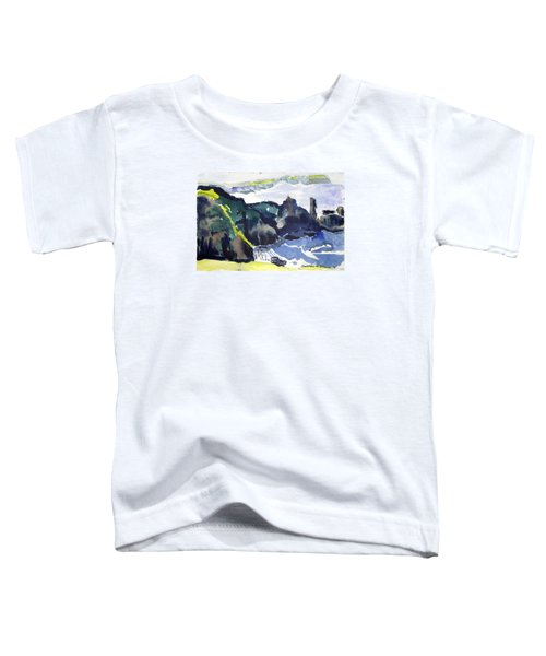 Cliffs In The Sea Toddler T-Shirt