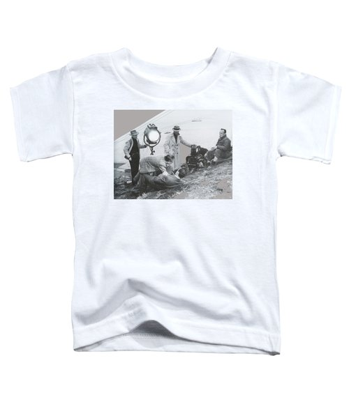 Clifton Young And Bogie Fight To The Death Dark Passage 1947-2016 Toddler T-Shirt