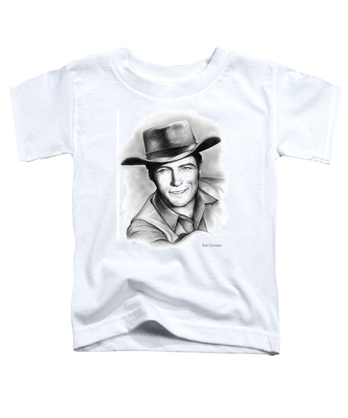 Clint Eastwood 03feb18 Toddler T-Shirt