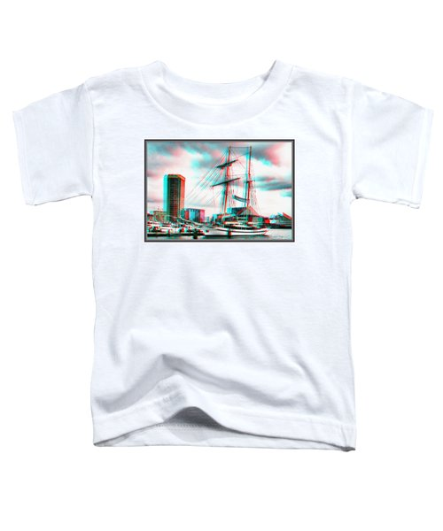 Clipper City - Use Red-cyan 3d Glasses Toddler T-Shirt