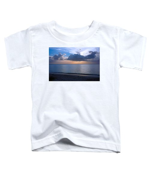 Cloud Creatures At Delnor Wiggins Pass State Park Toddler T-Shirt