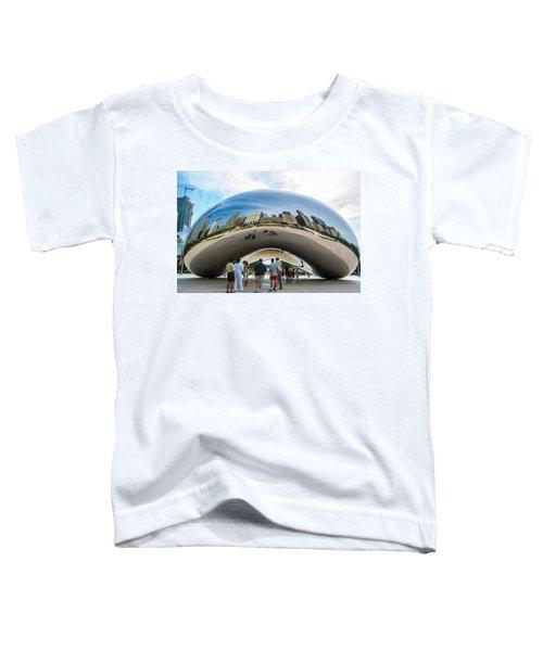 Cloud Gate Aka Chicago Bean Toddler T-Shirt