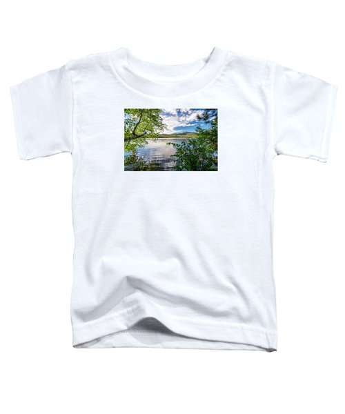 Cloud Swirl Mt. Chocorua Nh Toddler T-Shirt