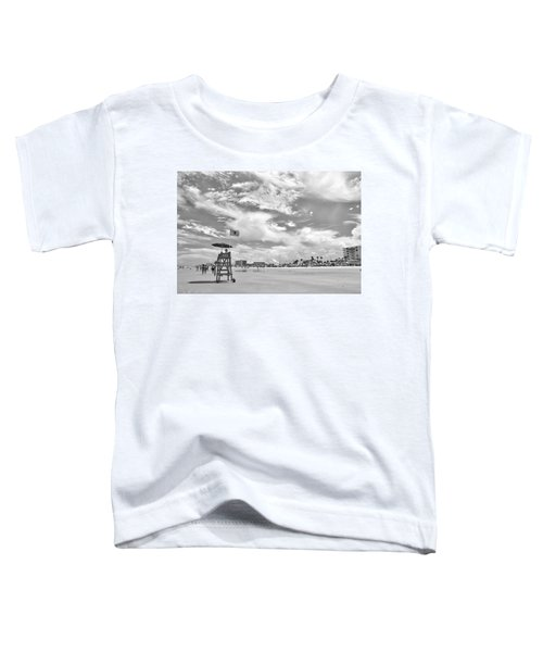 Clouds On The Beach Toddler T-Shirt