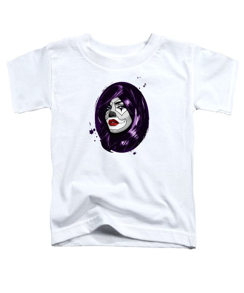 Clown Girl Toddler T-Shirt