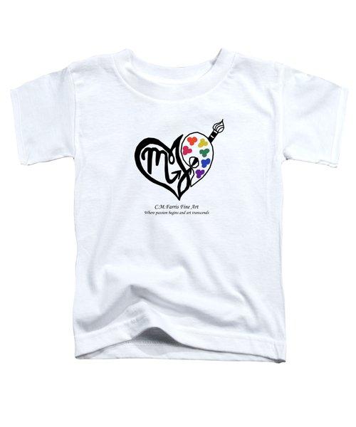 Cmfarris Logo Brand Toddler T-Shirt