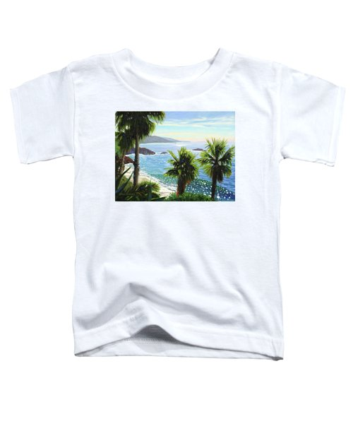 Coastal Palms Toddler T-Shirt