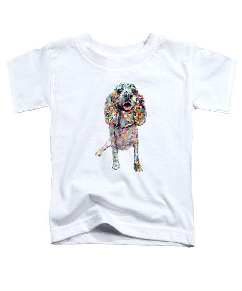 Cocker Spaniel Toddler T-Shirt