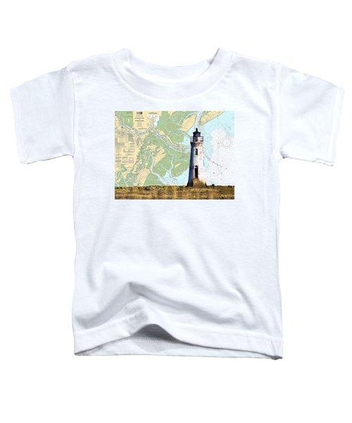 Cockspur On Navigation Chart Toddler T-Shirt