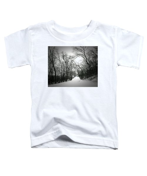 Cold Black Road Toddler T-Shirt
