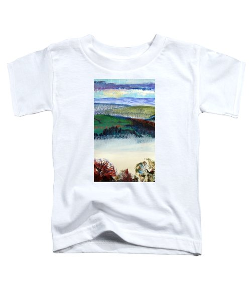 Cold Bright Morning England Toddler T-Shirt