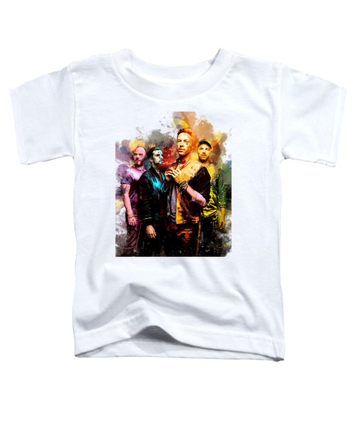 Coldplay Toddler T-Shirt by Rinaldo Ananta