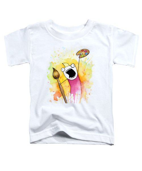 Color All The Water Toddler T-Shirt