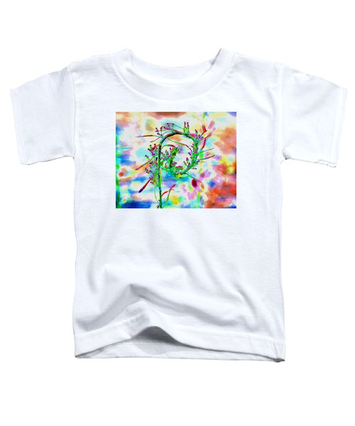 Color Curl Toddler T-Shirt