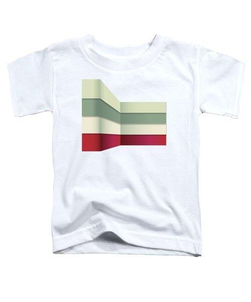 Color Harmonies - Umbrella On The Beach Around The Corner Toddler T-Shirt
