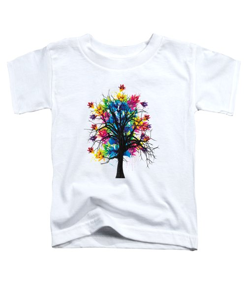 Color Tree Collection Toddler T-Shirt by Marvin Blaine