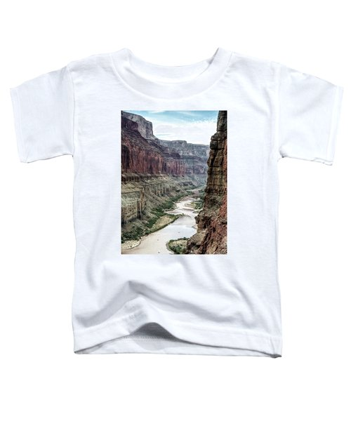 Colorado River And The East Rim Grand Canyon National Park Toddler T-Shirt