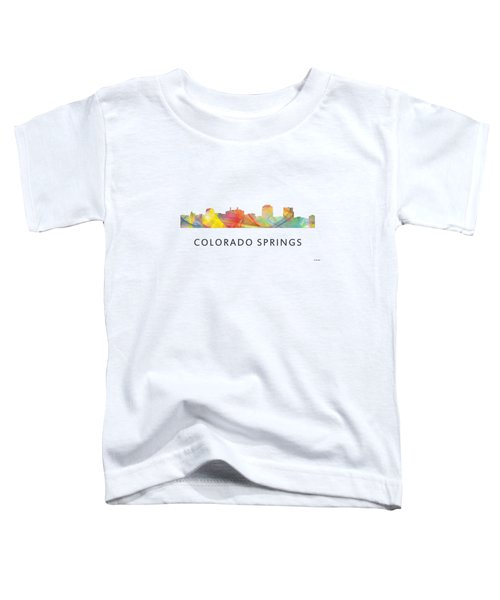 Colorado Springs Colorado Toddler T-Shirt