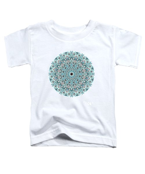 colorDrawMandalalesson Toddler T-Shirt