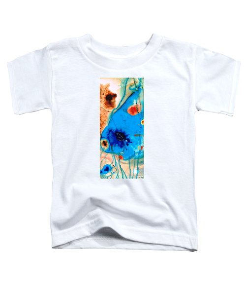Colorful Abstract Art - The Reef - Sharon Cummings Toddler T-Shirt