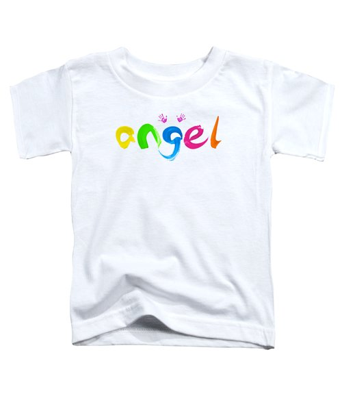 Colorful Angel Toddler T-Shirt