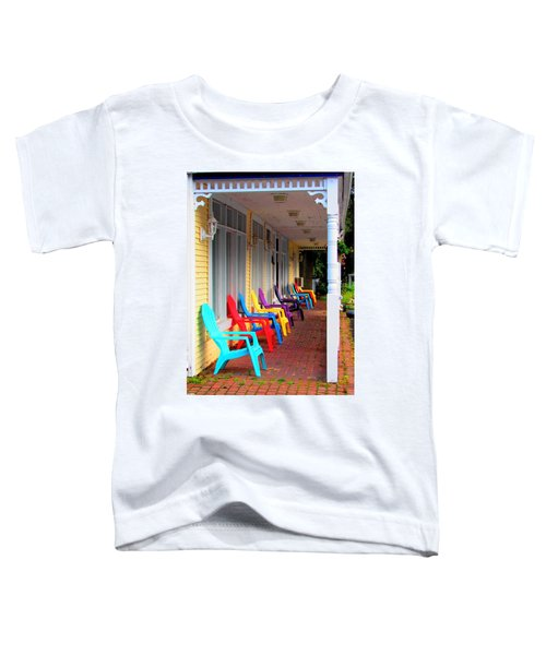 Colorful Chairs Toddler T-Shirt