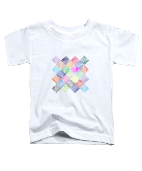 Colorful Geometric Patterns IIi Toddler T-Shirt