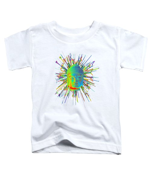 colorful Korean sparkle Toddler T-Shirt by Terrell Kaucher