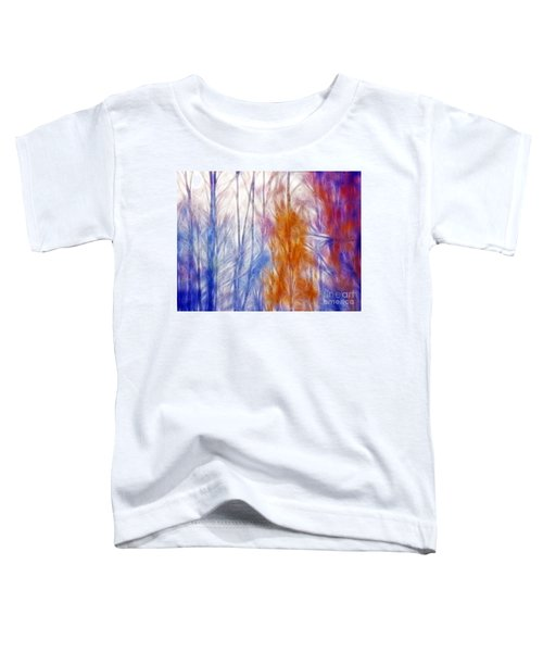 Colorful Misty Forest  Toddler T-Shirt