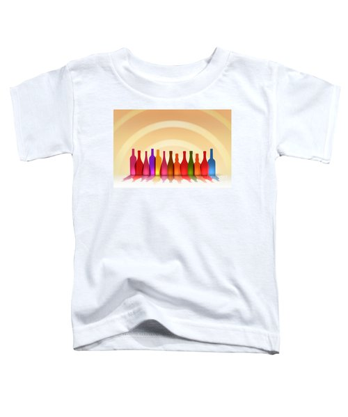 Colors Of Wine Toddler T-Shirt
