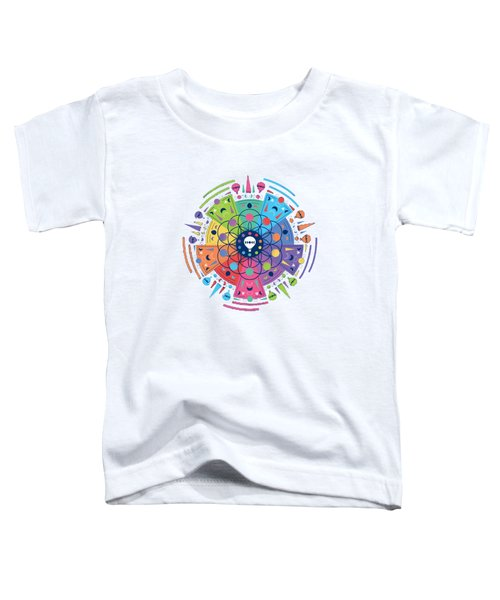 Colourful Of Stars Toddler T-Shirt