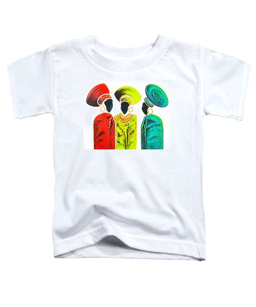 Colourful Trio - Original Artwork Toddler T-Shirt