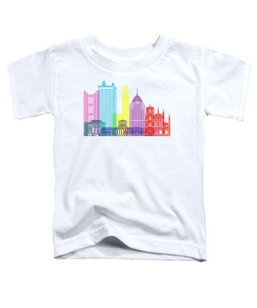Columbus Skyline Pop Toddler T-Shirt
