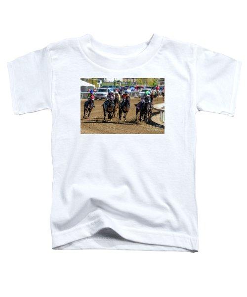 Coming Around The Turn Toddler T-Shirt