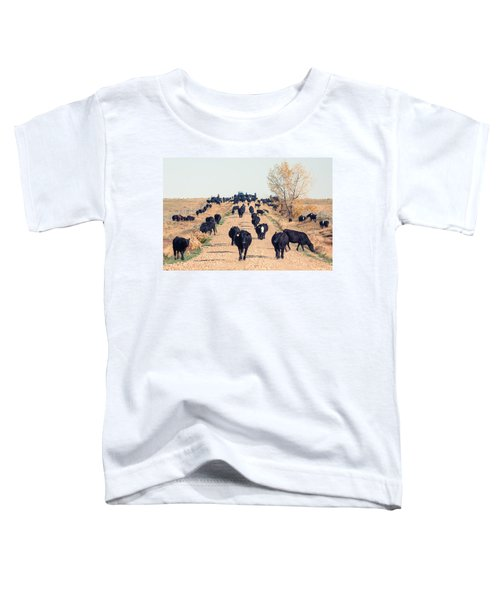 Coming Down The Road Toddler T-Shirt