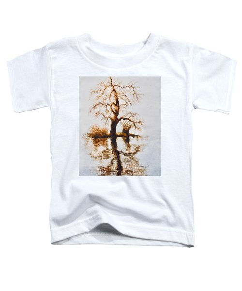 Como Lake Reflections Toddler T-Shirt