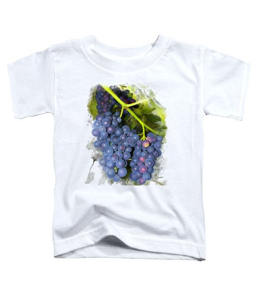 Concord Grape Toddler T-Shirt by Ivana Westin