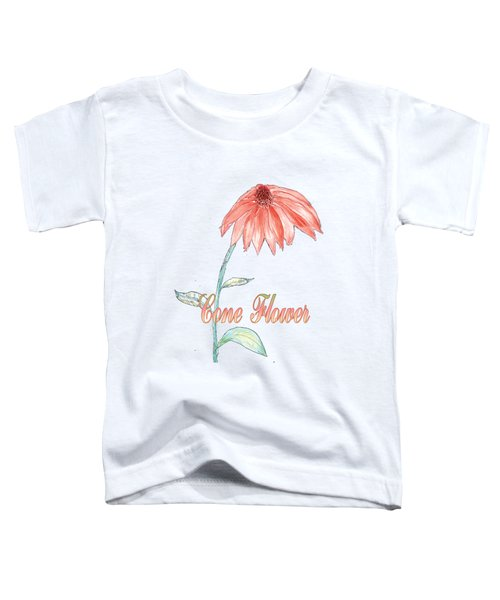 Cone Flower Toddler T-Shirt