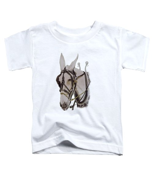 Connie The Mule Toddler T-Shirt by Gary Thomas
