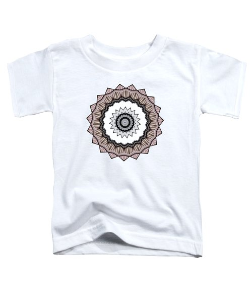 Construction Mandala By Kaye Menner Toddler T-Shirt by Kaye Menner