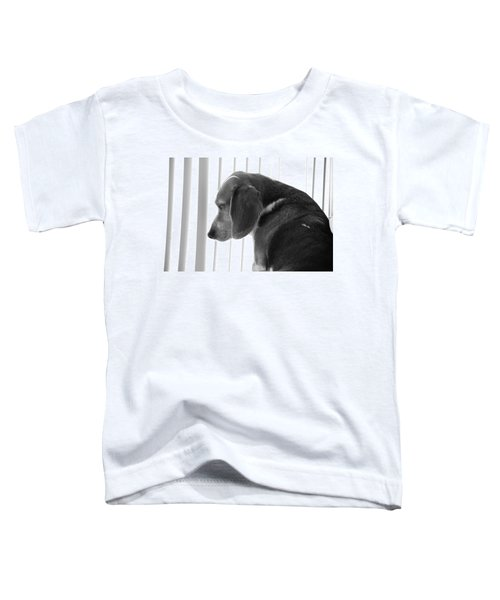 Contemplative Beagle Toddler T-Shirt