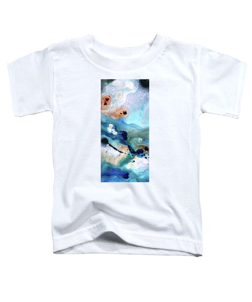 Contemporary Abstract Art - The Flood - Sharon Cummings Toddler T-Shirt
