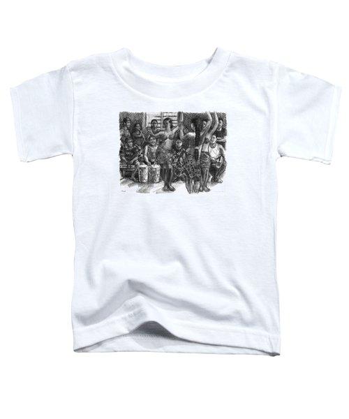 Cook Islands Dance Team At Practice Toddler T-Shirt