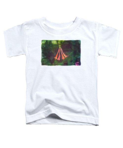 Coral Honeysuckle Toddler T-Shirt